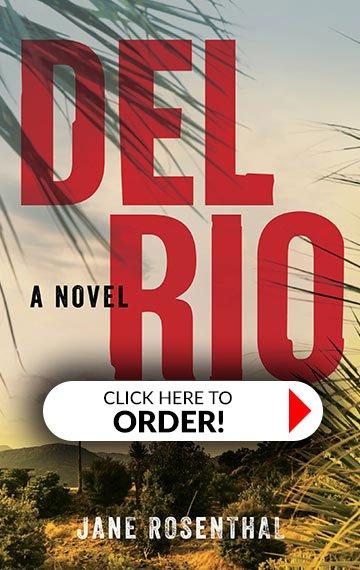 Del Rio Book Cover, with pre-order button