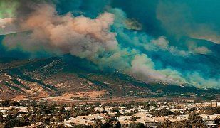 Central Valley air quality during the fire season